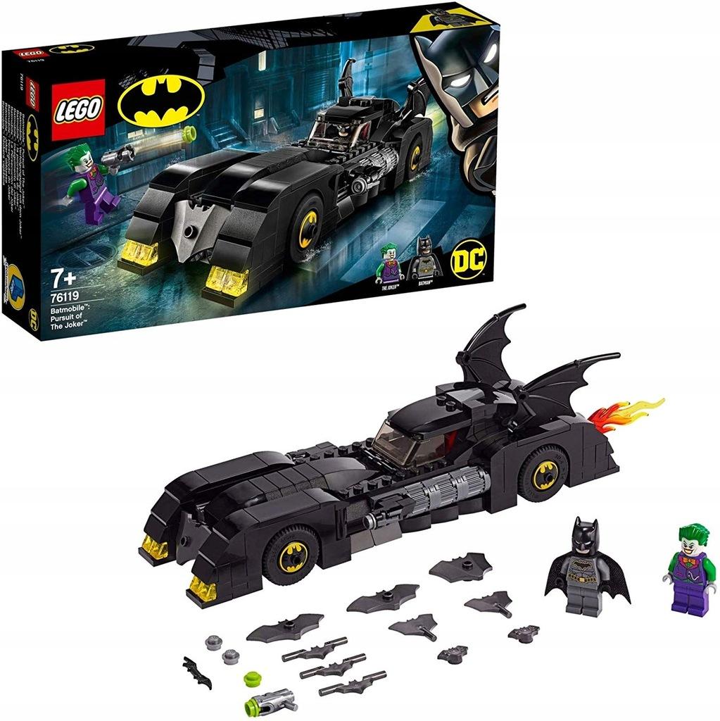 LEGO Super Heroes Batman i rabunek Człowieka