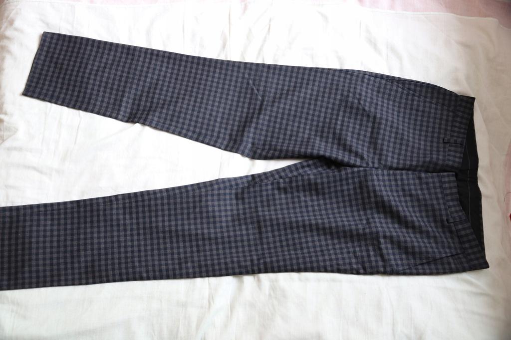 Asos spodnie w kratkę nowe roz.48