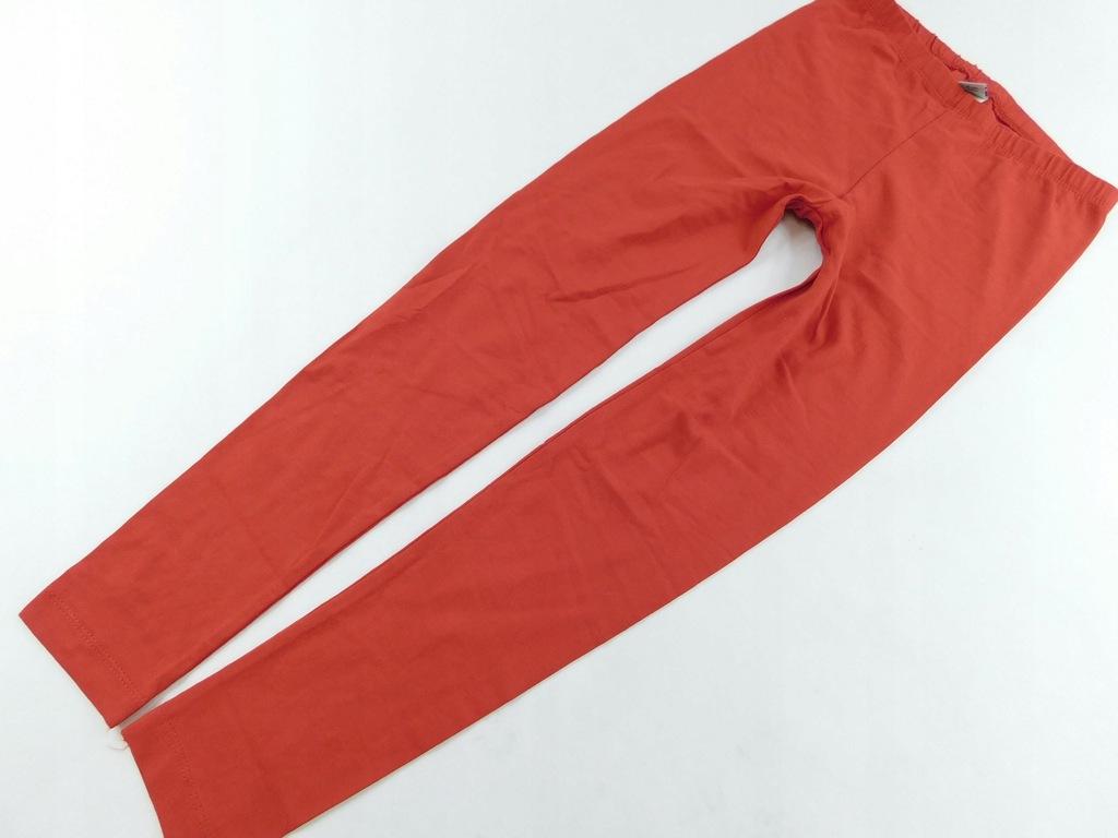 1910n77 TU _ legginsy czerwone _134cm