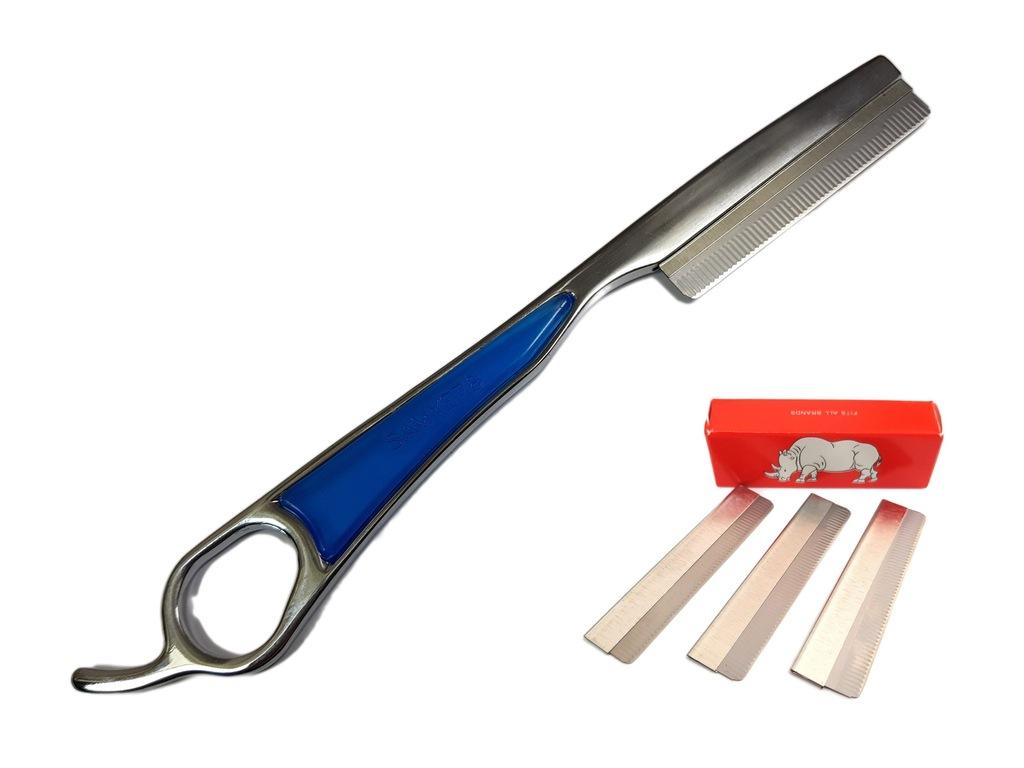 Nóż Chiński Fryzjerski 18 CM +10 Ostrzy Smith