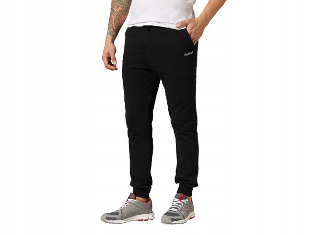Spodnie dresowe Reebok Cuff sportowe bawełniane
