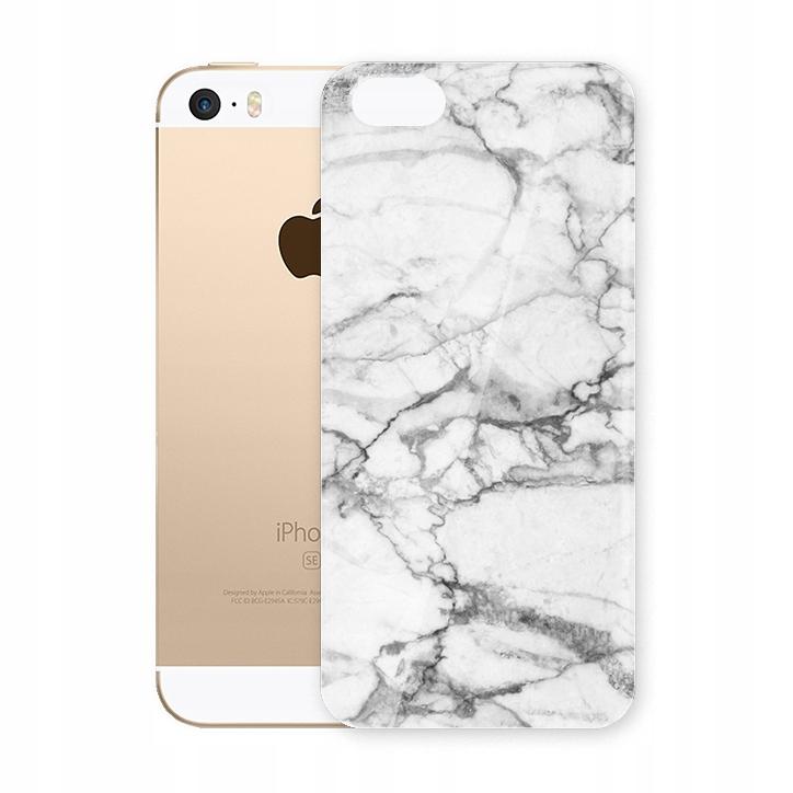 Iphone 5 5s Se Etui Slim Case Obudowa Wzory Marmur 7069623523 Oficjalne Archiwum Allegro