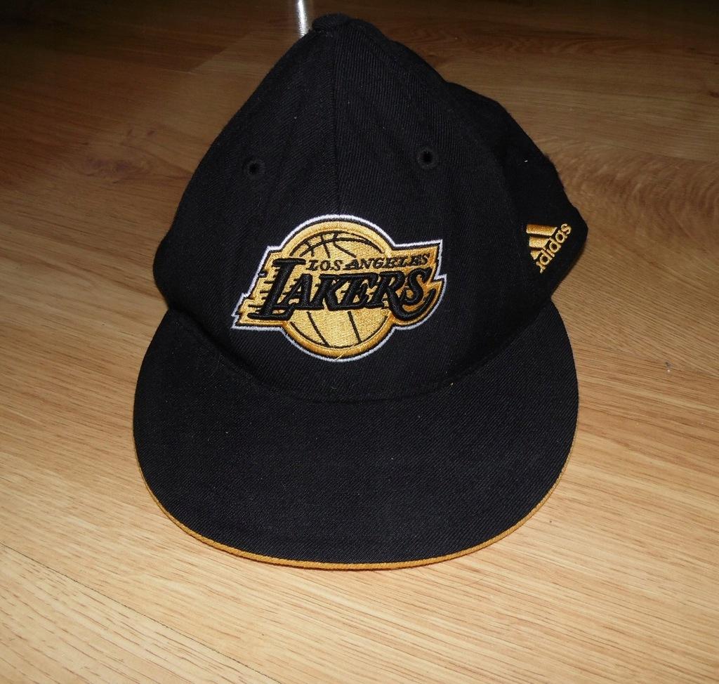 Czapka z daszkiem Adidas Los Angeles Lakers