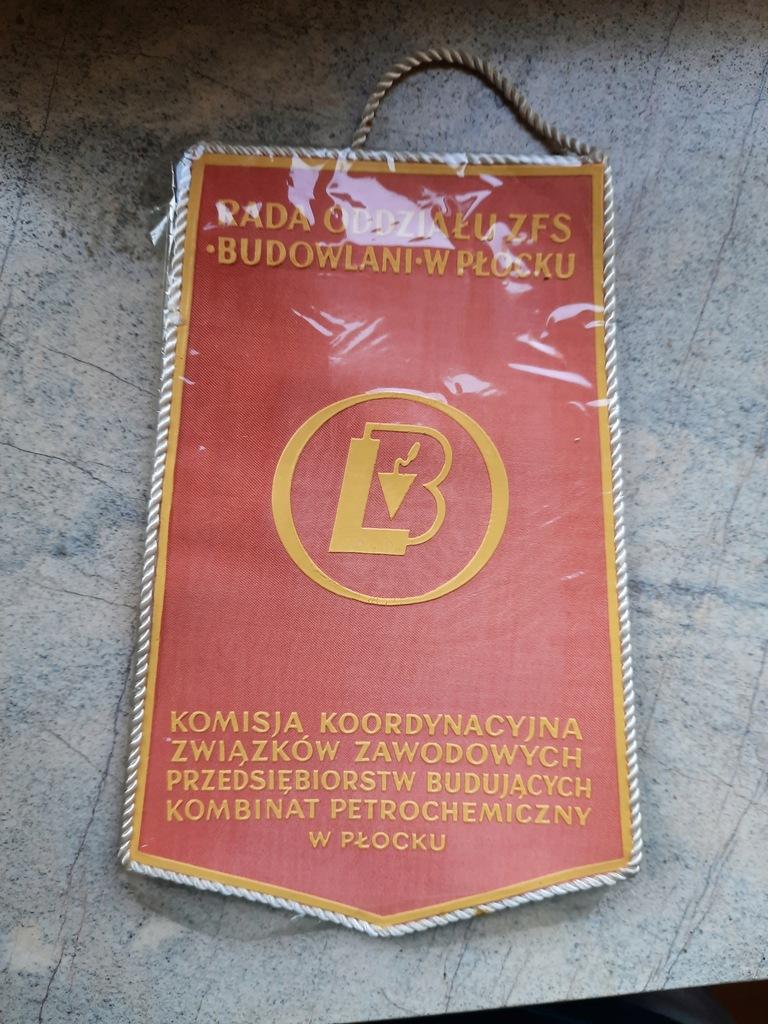 Proporczyk - Płock - Dzień Budowlanych - IX 1974r.