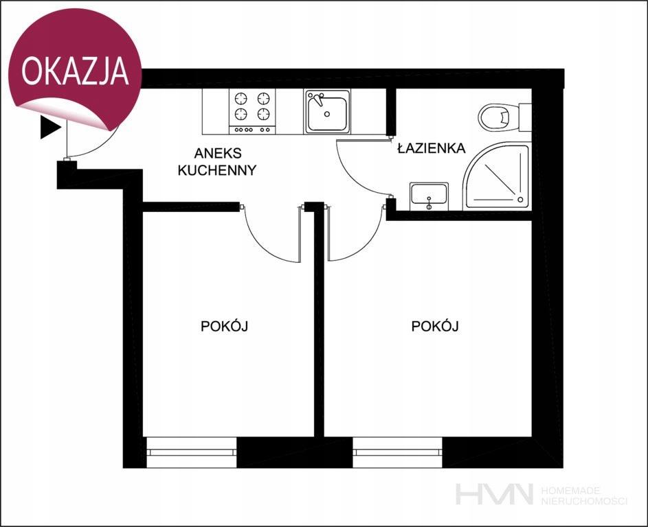 Mieszkanie, Kraków, Bronowice, Bronowice, 24 m²