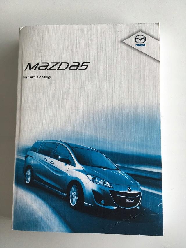 Mazda 5 (CW) - instrukcja obsługi - jęz. polski!