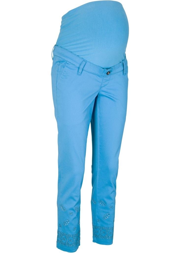 I289 BPC Spodnie ciążowe 7/8 r.44 pas:106-112