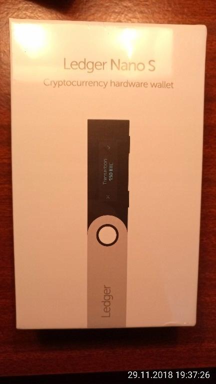 Ledger Nano S portfel sprzętowy kryptowalut