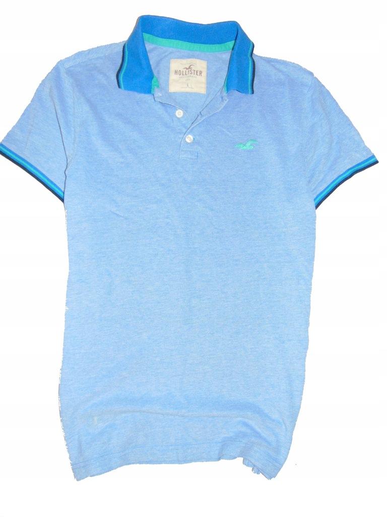 HOLLISTER eXtra koszulka męska polo r L