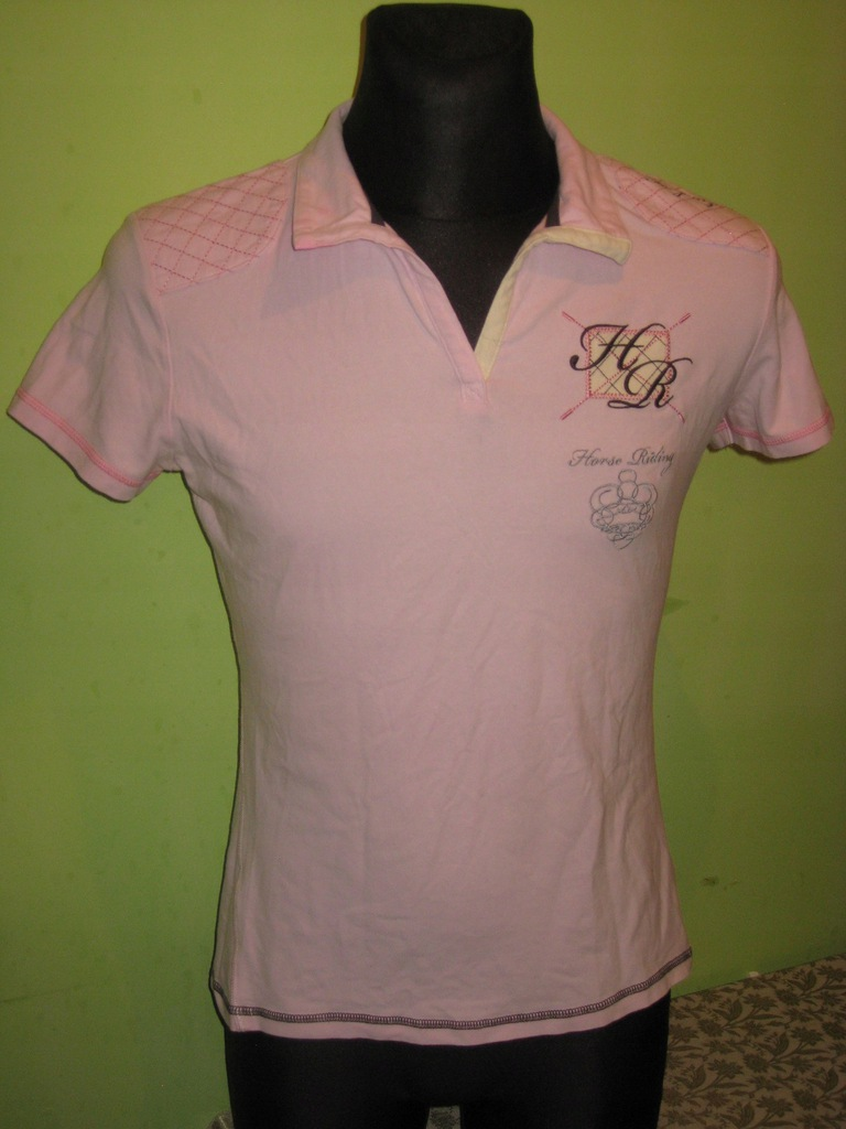 FOUGANZA - koszulka polo - damska roz. M