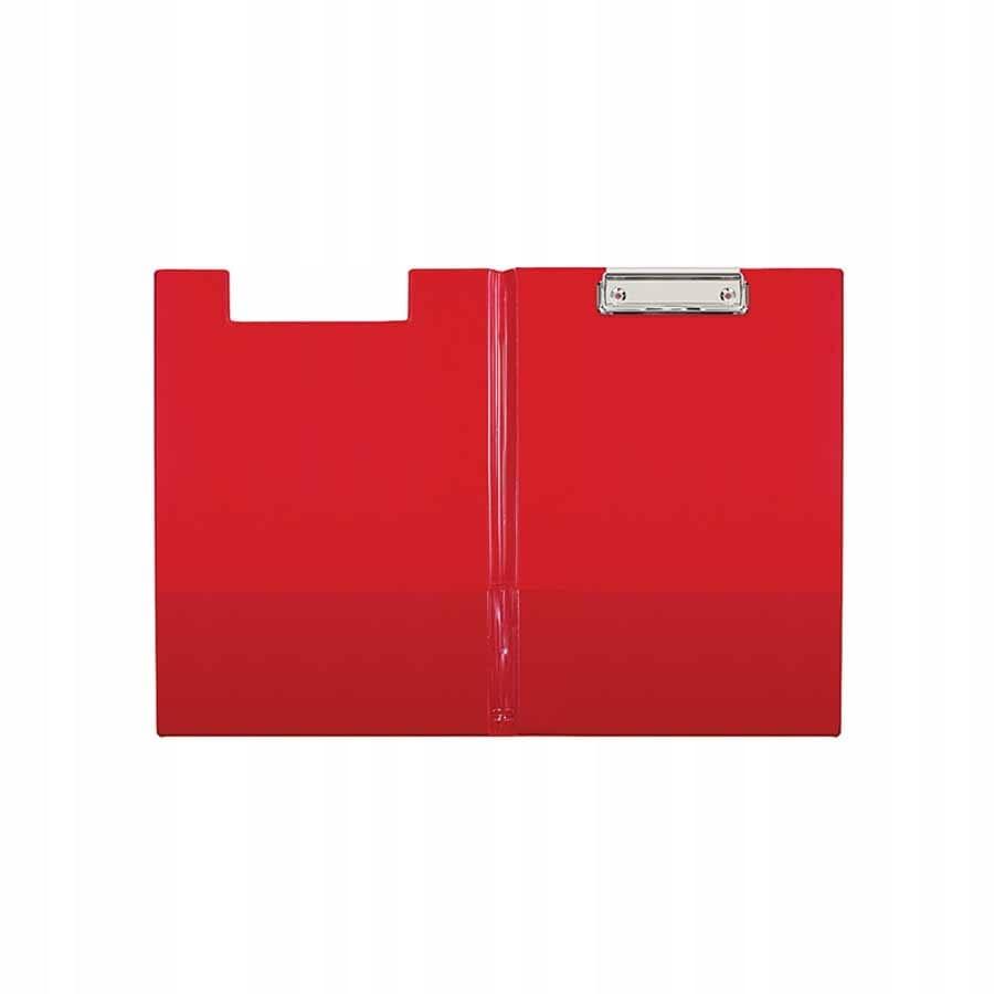 Deska z klipem i okładką Biurfol A4 czerwony