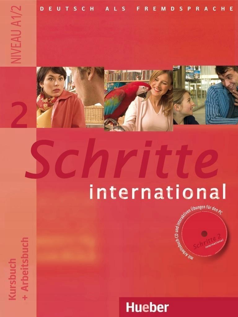 SCHRITTE INTERNATIONAL 2 KB+AB+CD HUEBER