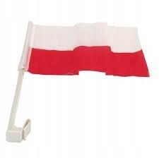 Flaga na samochód