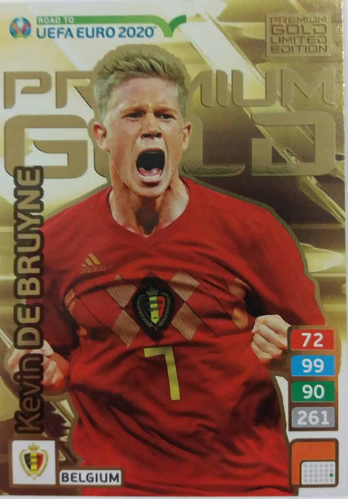 ROAD TO EURO 2020 PREMIUM GOLD LIMITED DE BRUYNE