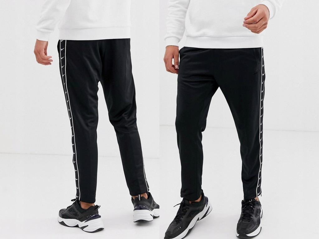 Nike - Czarne Spodnie Dresowe Joggers L