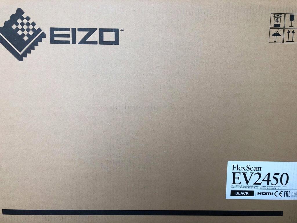 Monitor Eizo 23,8 FlexScan EV2450-BK black nowy