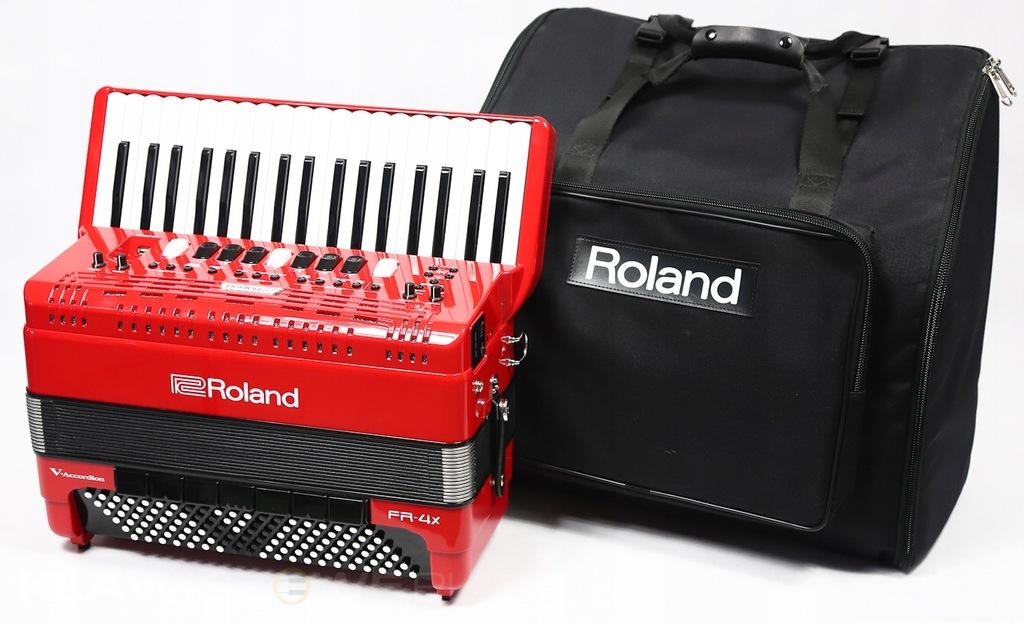 ROLAND FR-4X czerwony AKORDEON CYFROWY + TORBA
