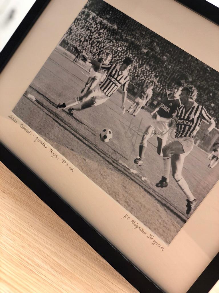Zdjęcie Zbigniewa Bońka / mecz Lechia - Juventus