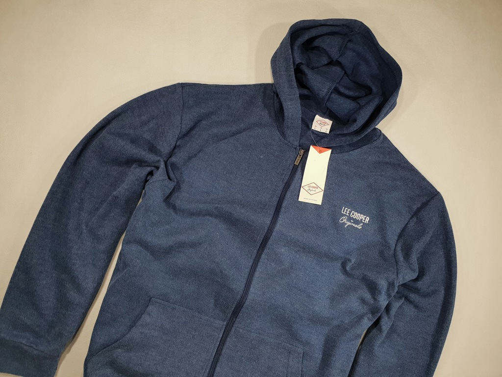 LEE COOPER blue rozpinana z kapturem NOWA 3XL