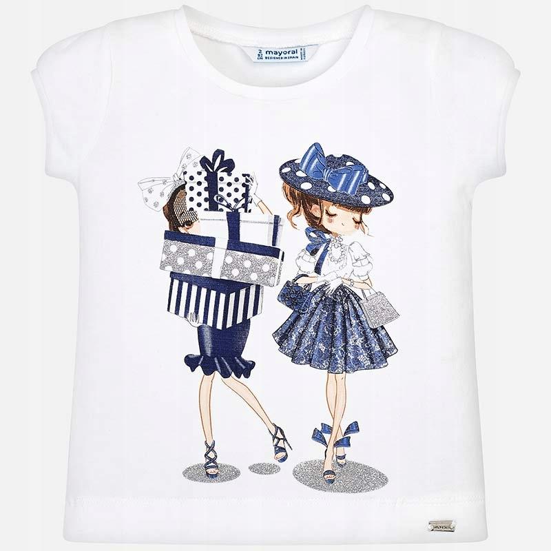 Koszulka z krótkim rękawem 'zakupy' roz. 98 MAYORA
