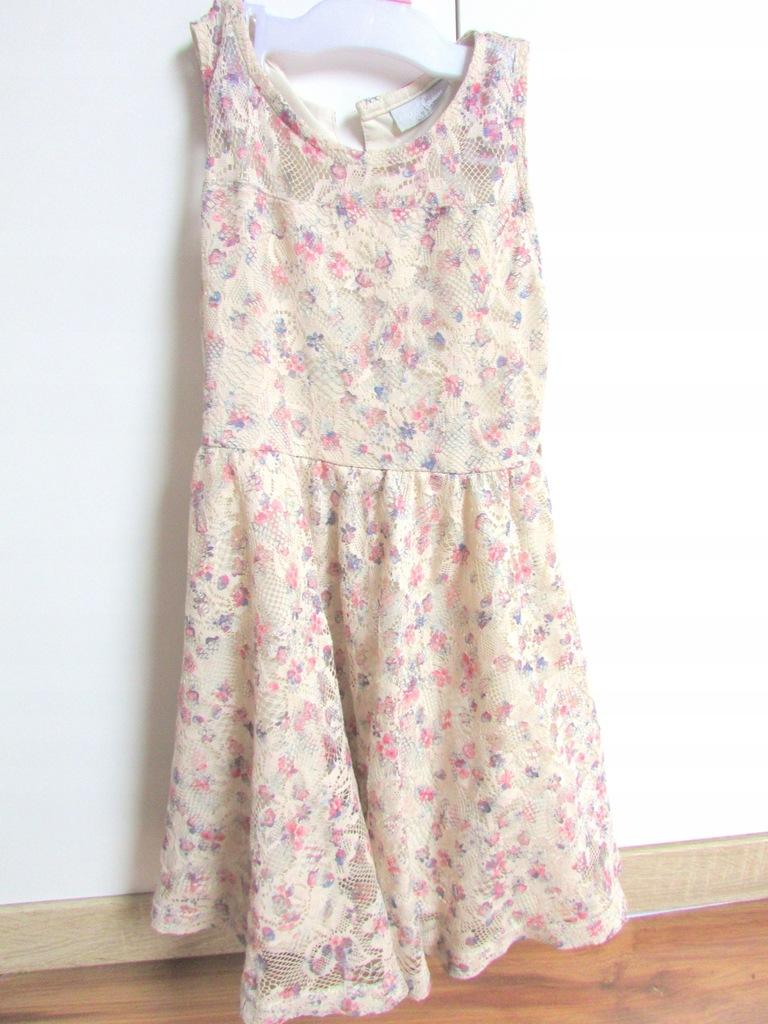 Sukienka letnia Matalan 6 lat r 116