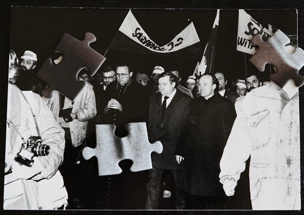 Stalowa Wola - Lech Wałęsa - 1989 - Solidarność -1