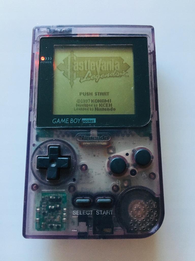Nintendo Gameboy Pocket Clear