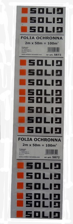 FOLIA OCHRONNA 2M*50M