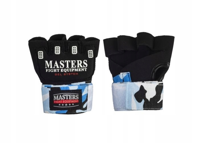 Bandaże bokserskie żelowe MASTERS CAMOUFLAGE L/XL