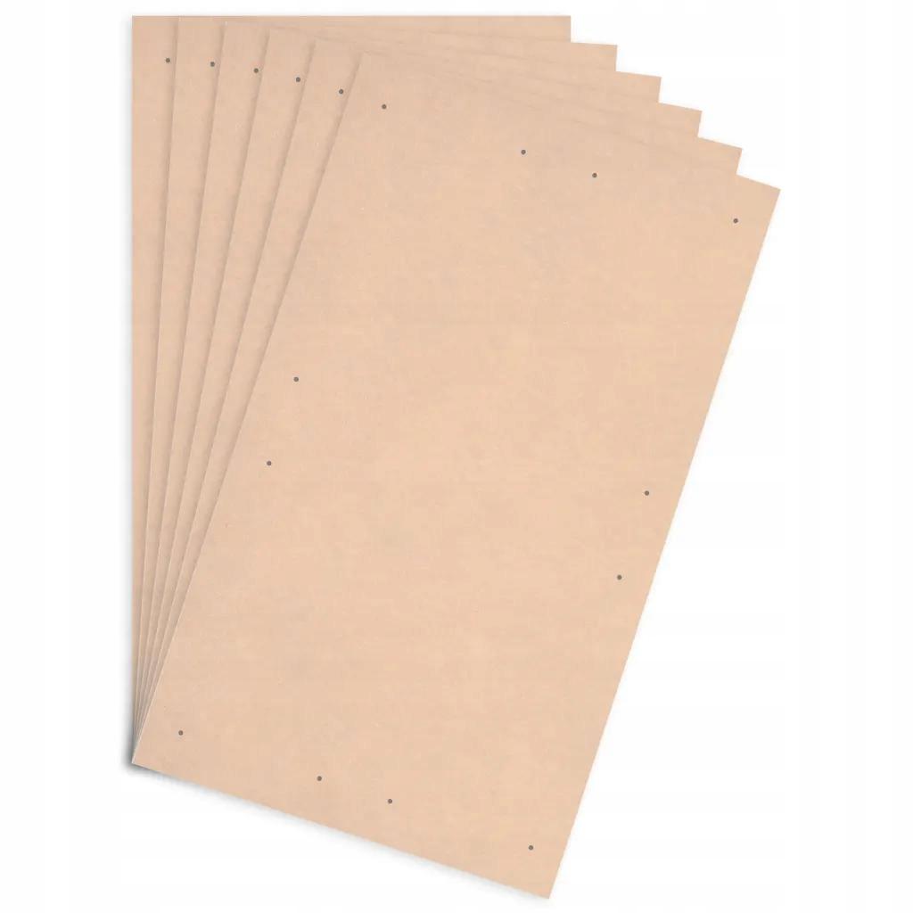 Tablice plakatowe DIN 10szt.płyta HDF860x620x3 mm