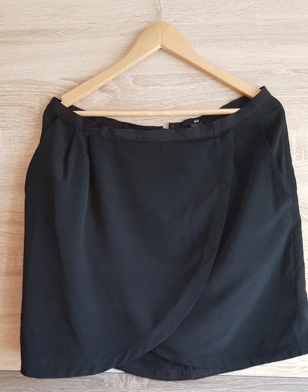 H&M spódnica damska mini r.44 kopertowa