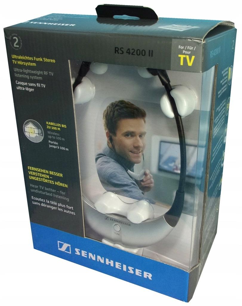 SENNHEISER RS 4200 II słuchawki bezprzewodowe OPIS