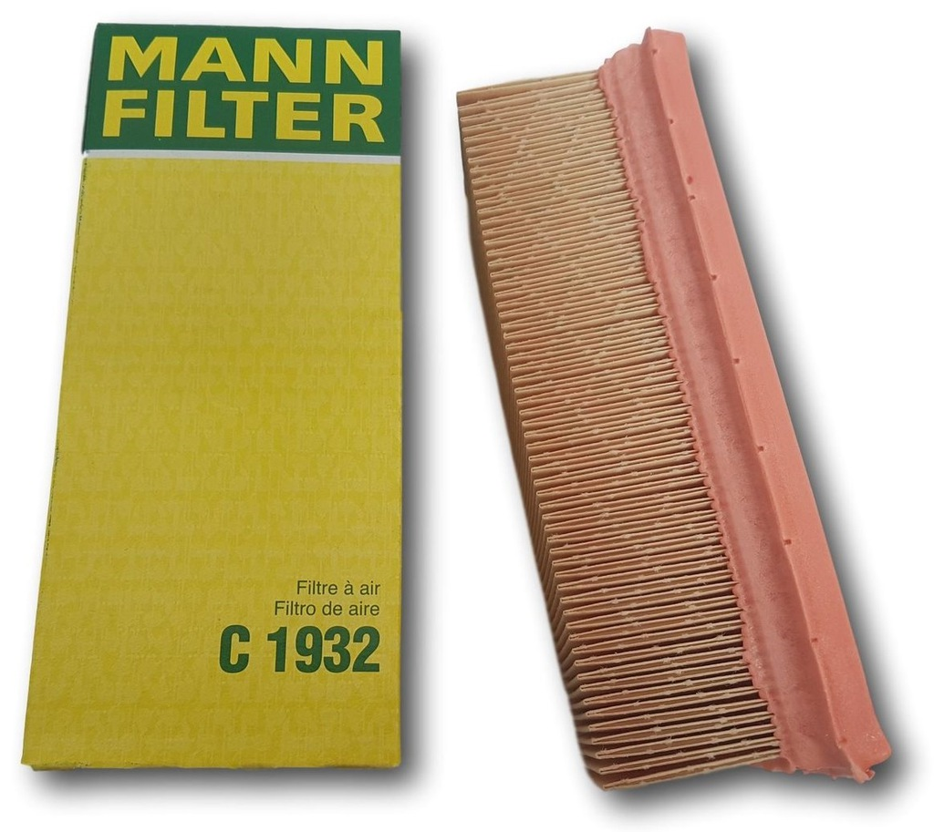Mann Filter C1932 Filtre à Air pour Renault Clio Kangoo