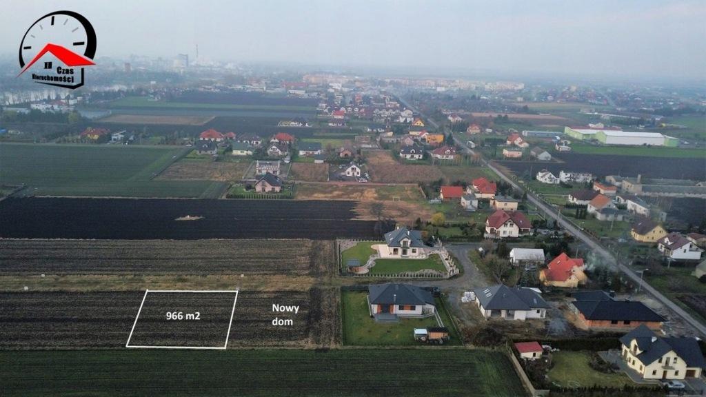 Działka, Kruszwica (gm.), 966 m²
