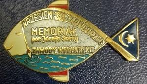 Odznaka wędkarska PZW Memoriał Sarny Tarnobrzeg 88