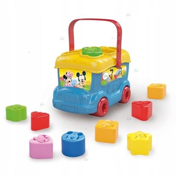 Zabawka Sorter Autobus Baby Mickey Clementoni