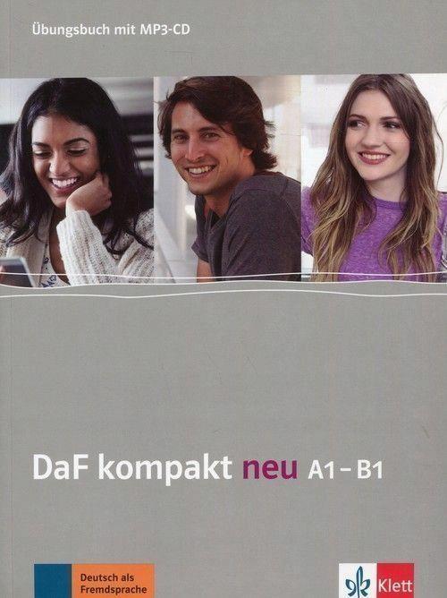 DAF KOMPAKT NEU A1-B1 UBUNGSBUCH + MP3-CD