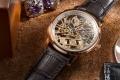 Zegarek męski Aerowatch skeleton nakręcany ręcznie
