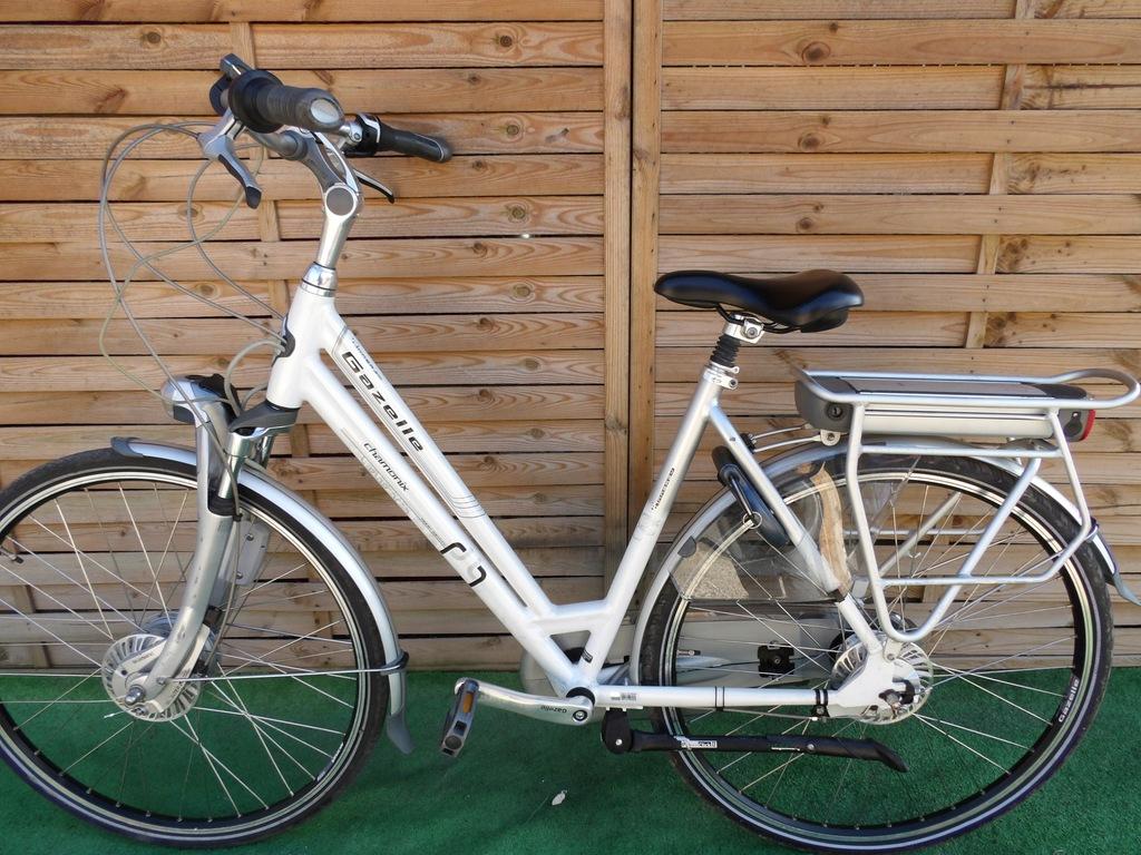 Rower elektryczny Gazelle Chamonix.D 53. I inne