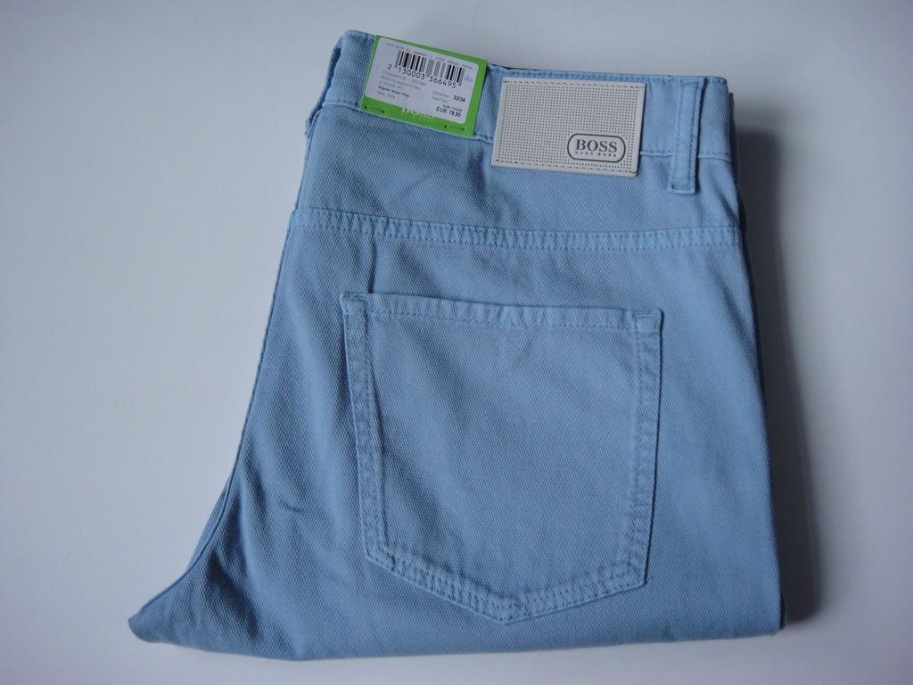 HUGO BOSS GREEN spodnie roz 33-34 pas 88 cm