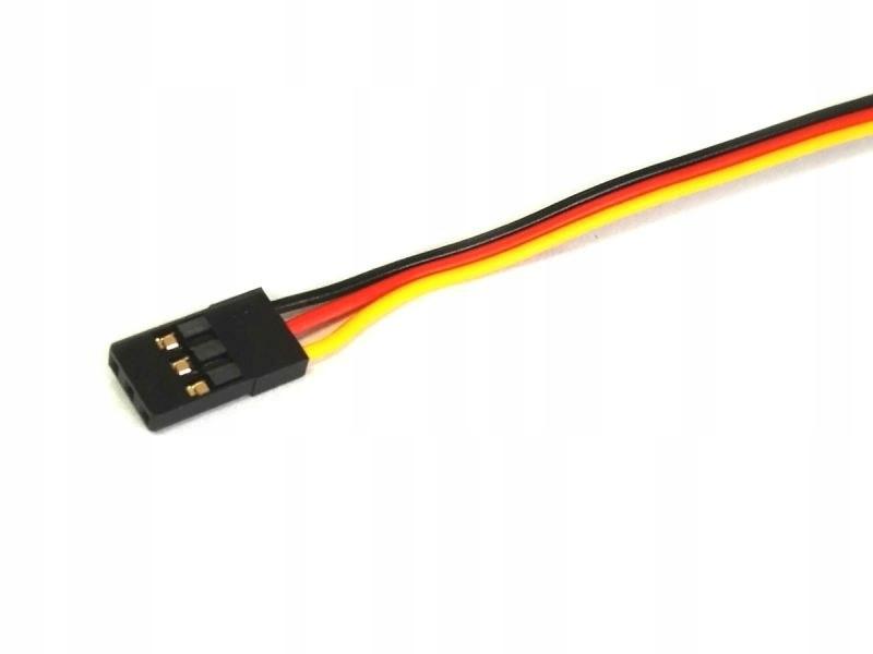 Przewód serwa z wtyczką JR 45cm 0,13mm2 26AWG - pł
