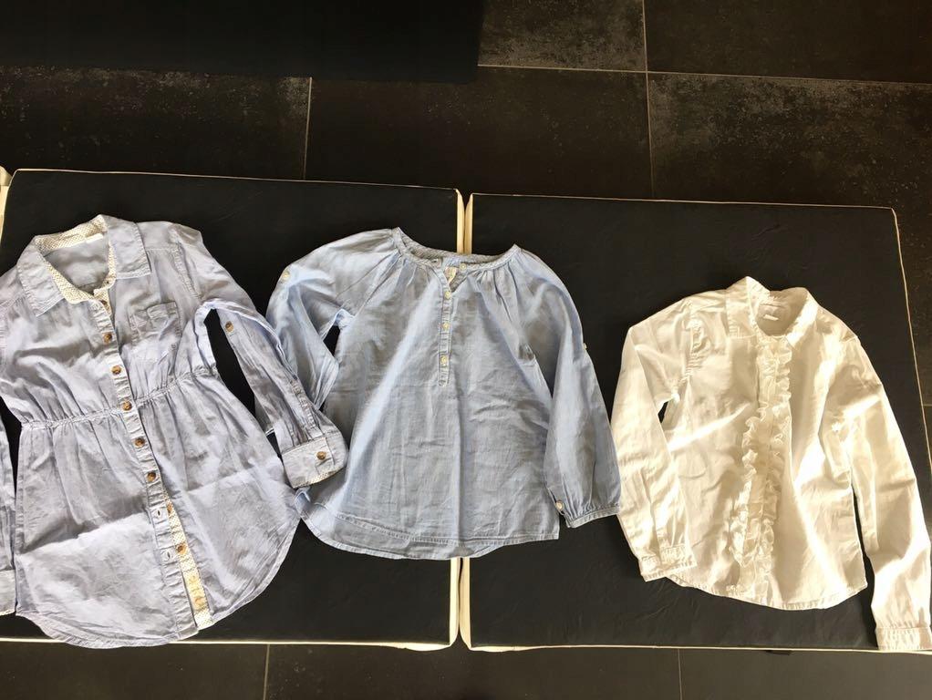 H&M Coolclub koszule szkoła rozm 134