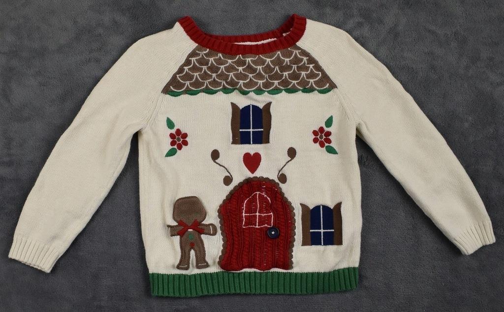 Sweterek święta 98-104 cm TU
