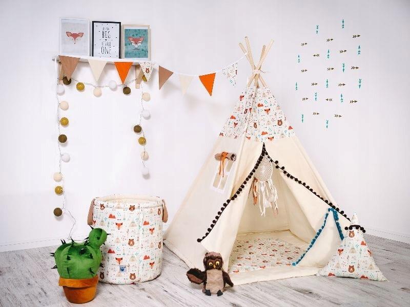 Namiot Tipi dla dzieci Mój Przyjaciel Miś 8425476983