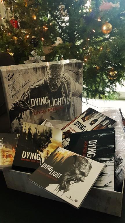 Kolekcjonerska gra Dying Light z podpisami twórców