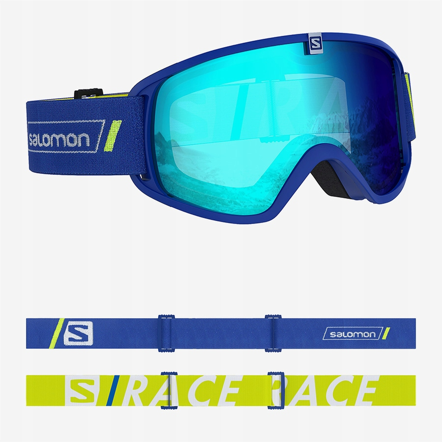 Gogle Salomon Trigger Race Blue S2