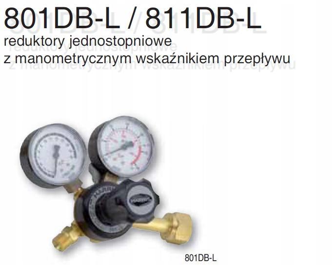 REDUKTOR LINCOLN HARRIS ARGON / CO2 801DB-30L-AR/