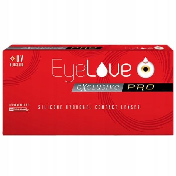 Soczewki EyeLove Exclusive PRO 3 sztuki