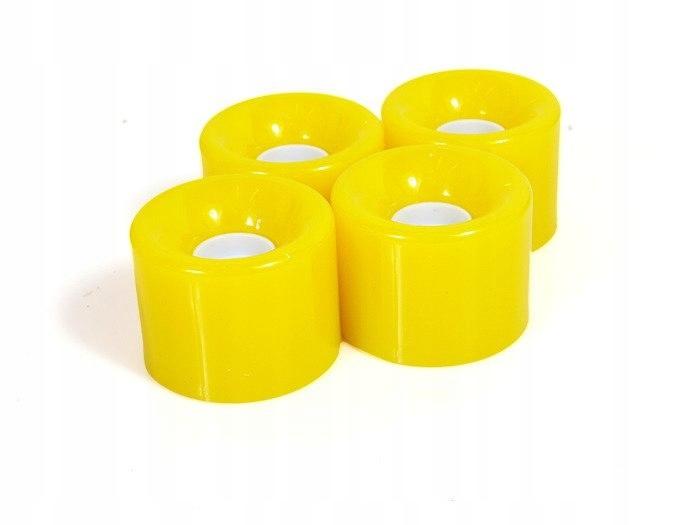 Kółka do fiszki 59x46 mm żółte