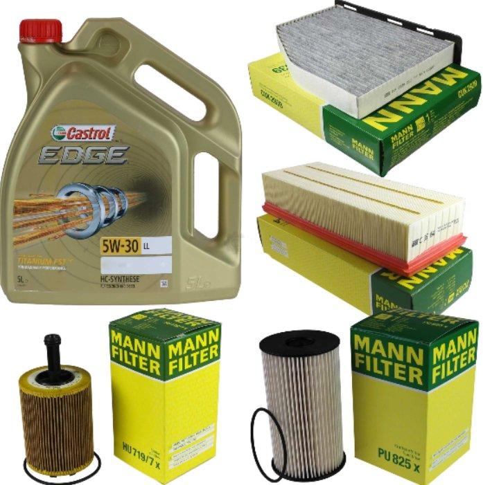 Zestaw filtrow Eos Golf VI Passat Turan1,9 2,0TDI
